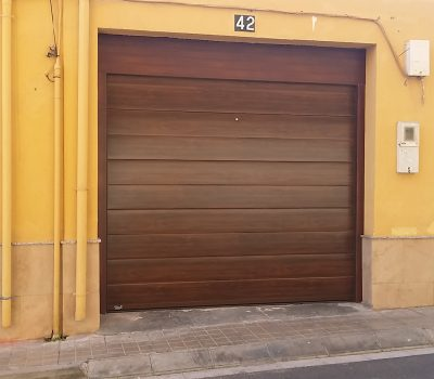Panel canal central madera